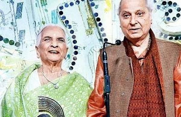 Girija Devi and Pandit Jasraj