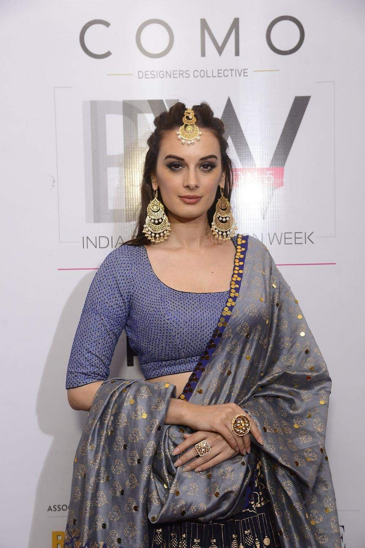 Actress Evelyn Sharma at India Beach Fashion Week in Goa