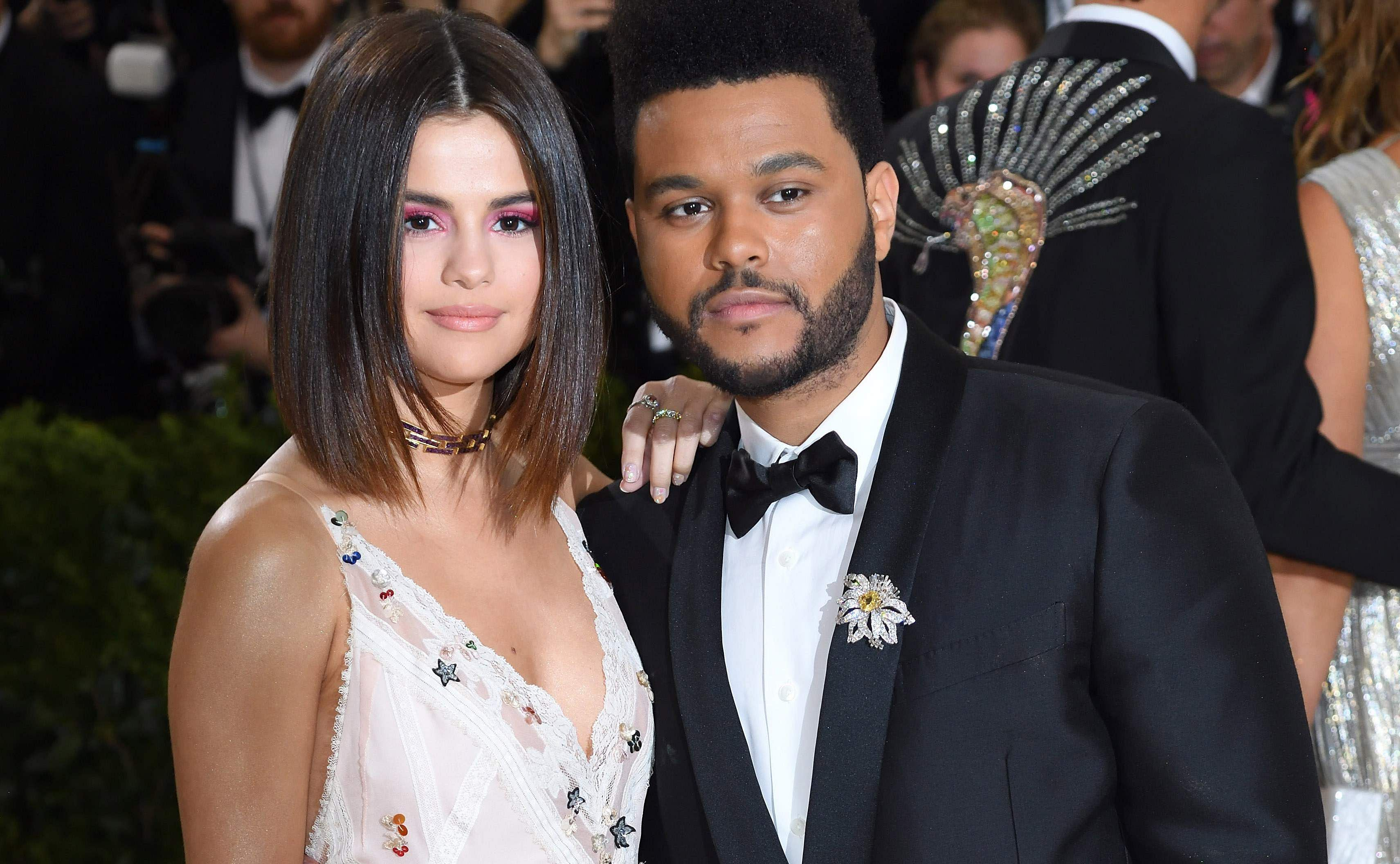 Selena Gomez and The Weeknd
