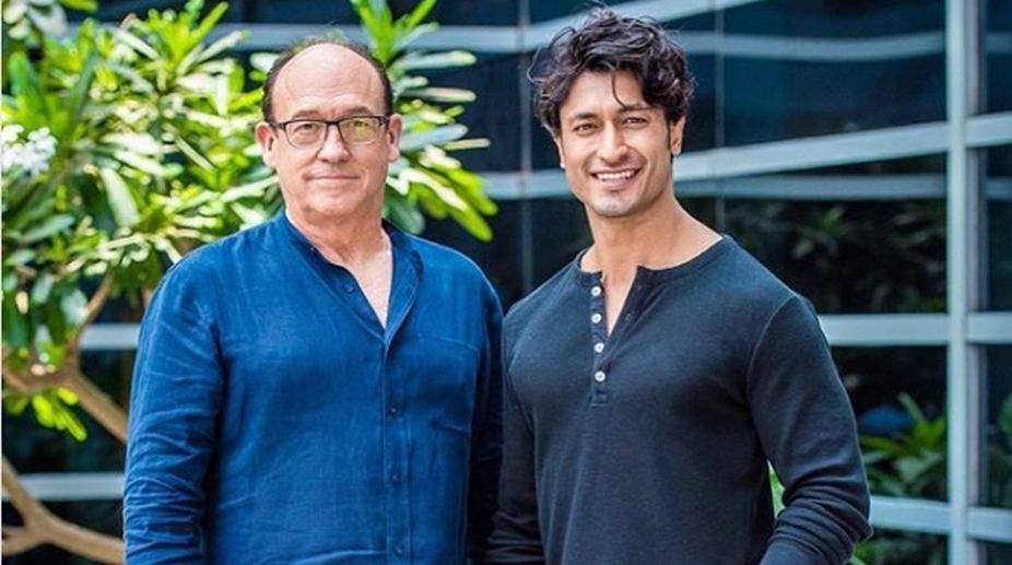 Vidyut Jamwal with director Chuck Russel