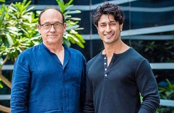 Vidyut Jamwal with director Chuck Russel