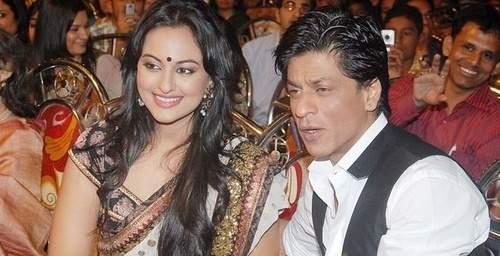 Sonakshi SInha and SRK