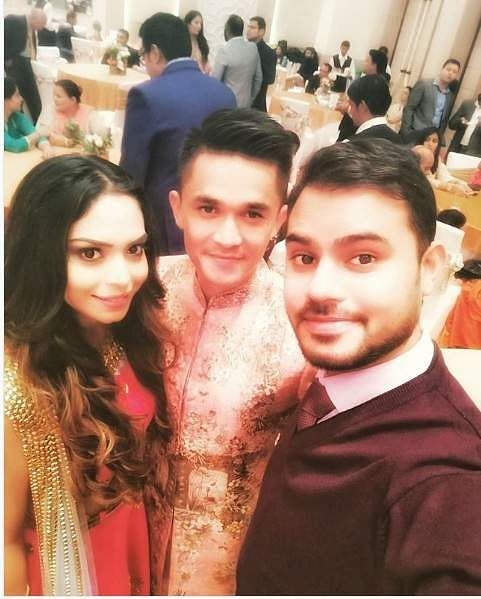 Sunil Chhetri and Sonam | Source: Instagram