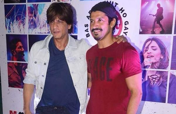 Shah Rukh Khan and Farhan Akhtar