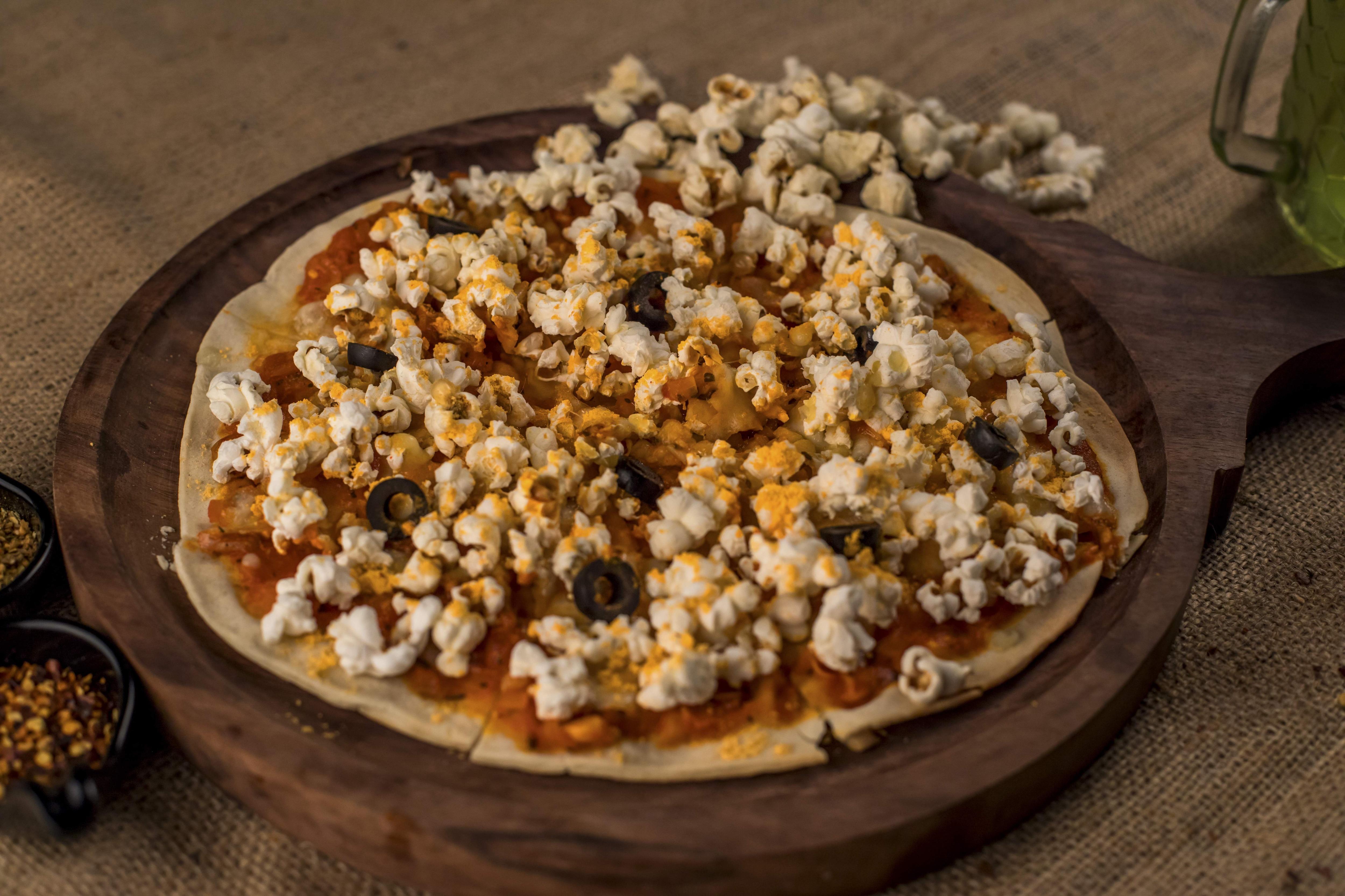 Popcorn Pizza