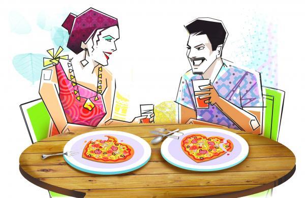 An all-singles dinner