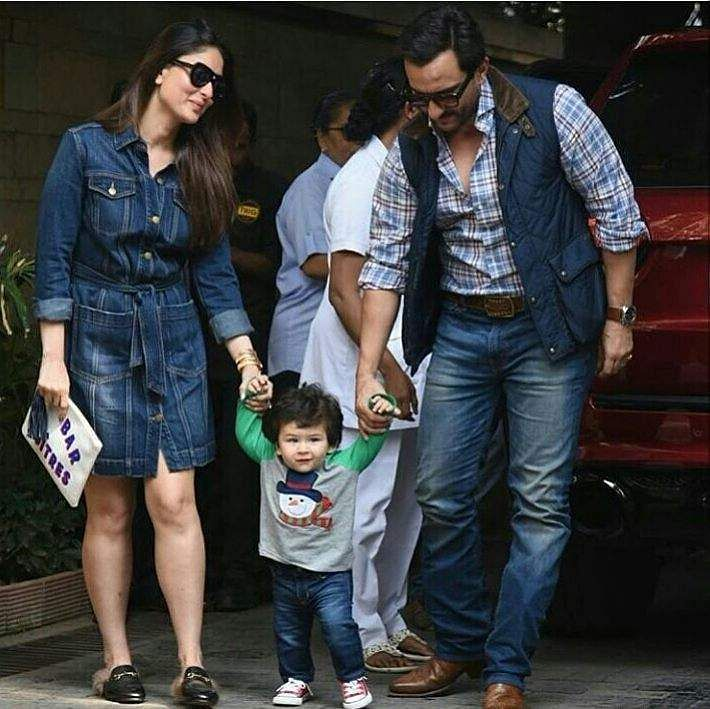 Kareena Kapoor, Saif Ali Khan and Taimur