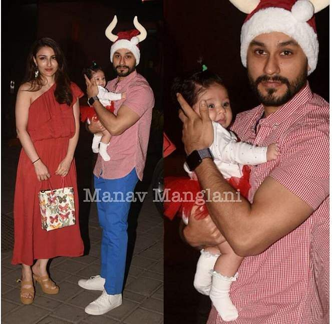 Soha Ali Khan, Kunal Khemu and Inaaya