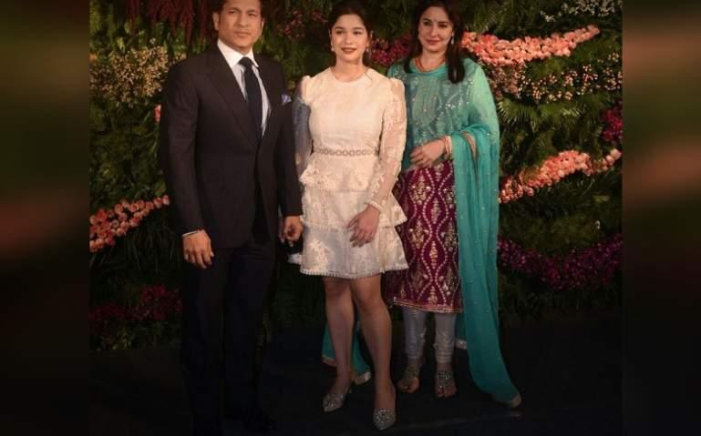 Sachin Tendulkar and family