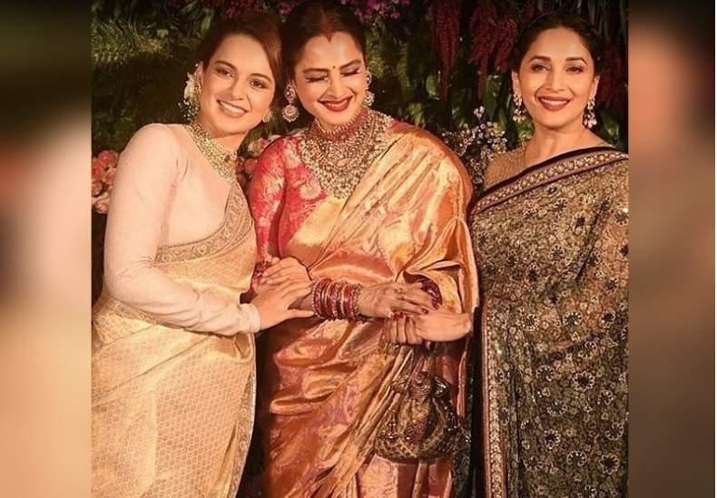 Kangana Ranaut, Rekha and Madhuri Dixit