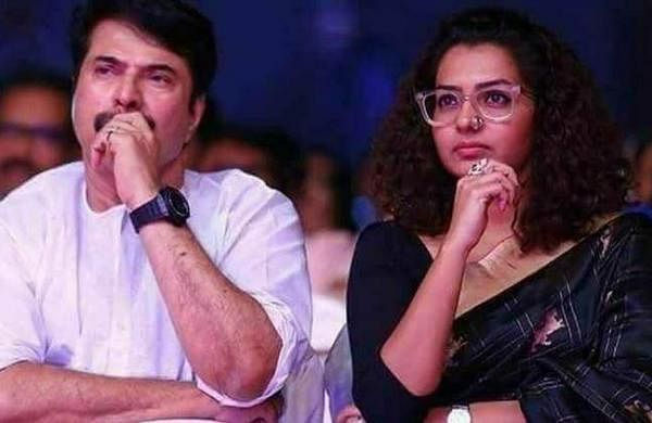 Mammootty and Parvathy