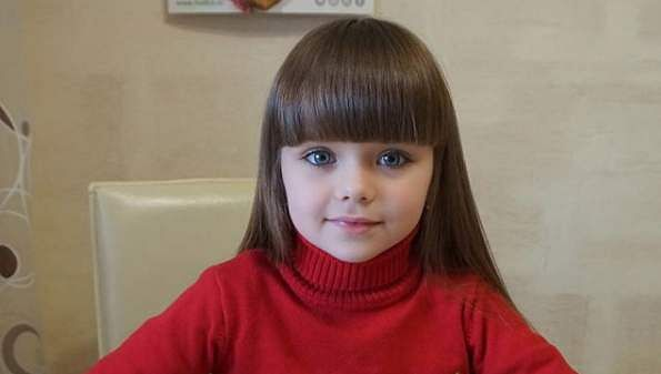 Kids russian models Siberian child