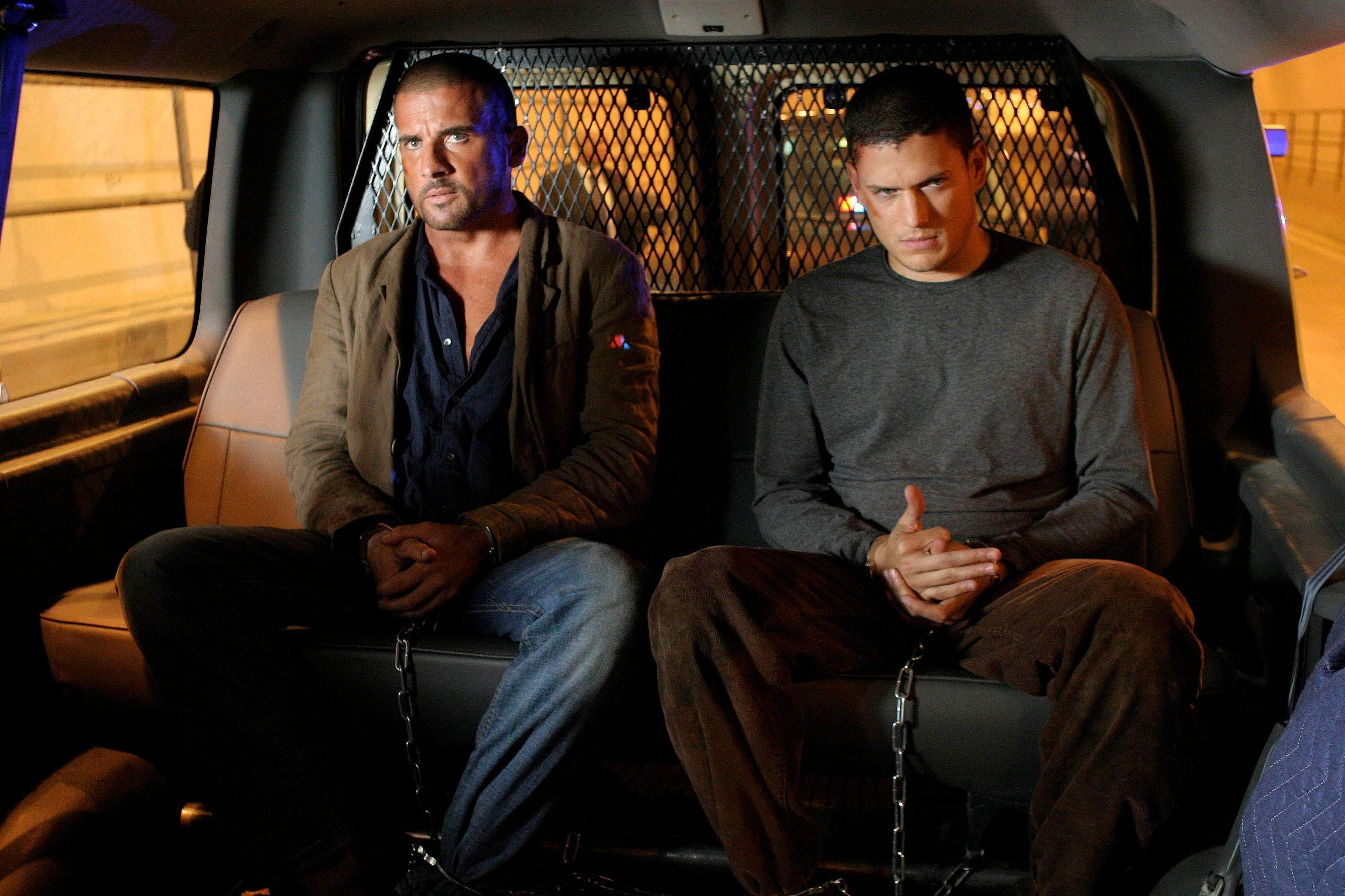 Dominic Purcell and Miller