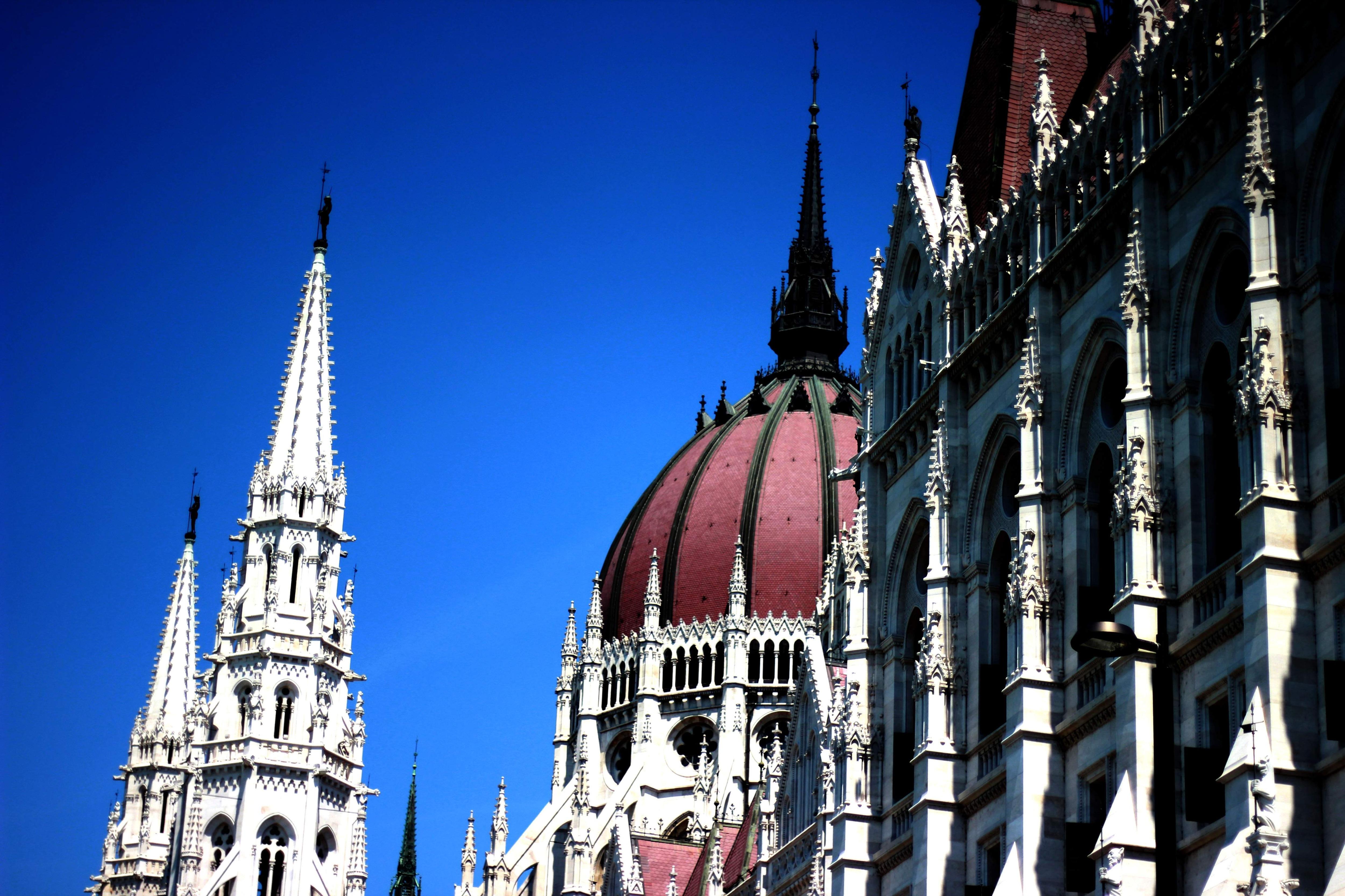 Hungarian Parliament Building. Budapest