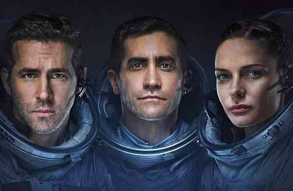 Ryan Gosling, Jake Gyllenhaal and Rebecca Ferguson, in LIfe