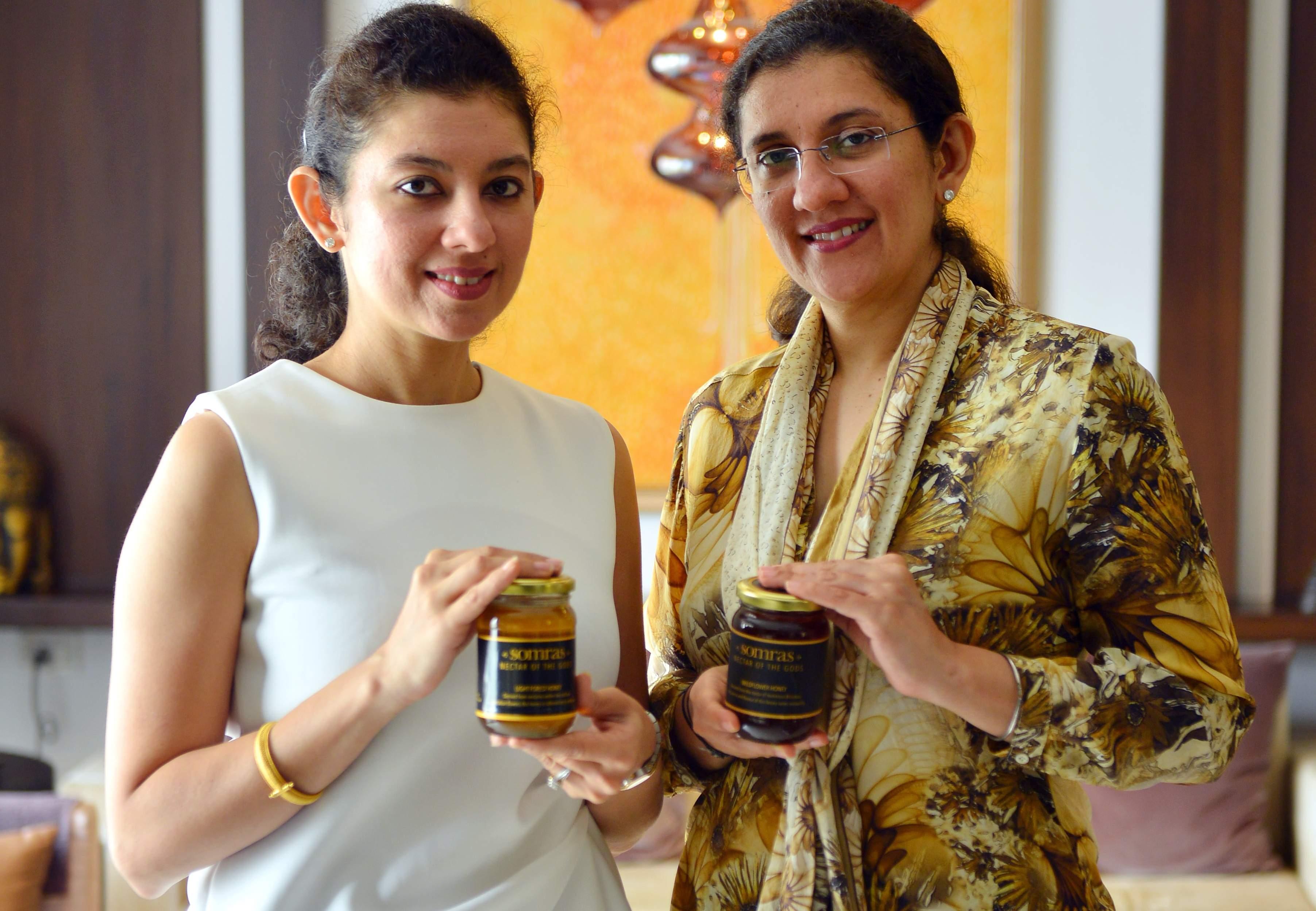 Kirti Wassan and Shalini Ahuja