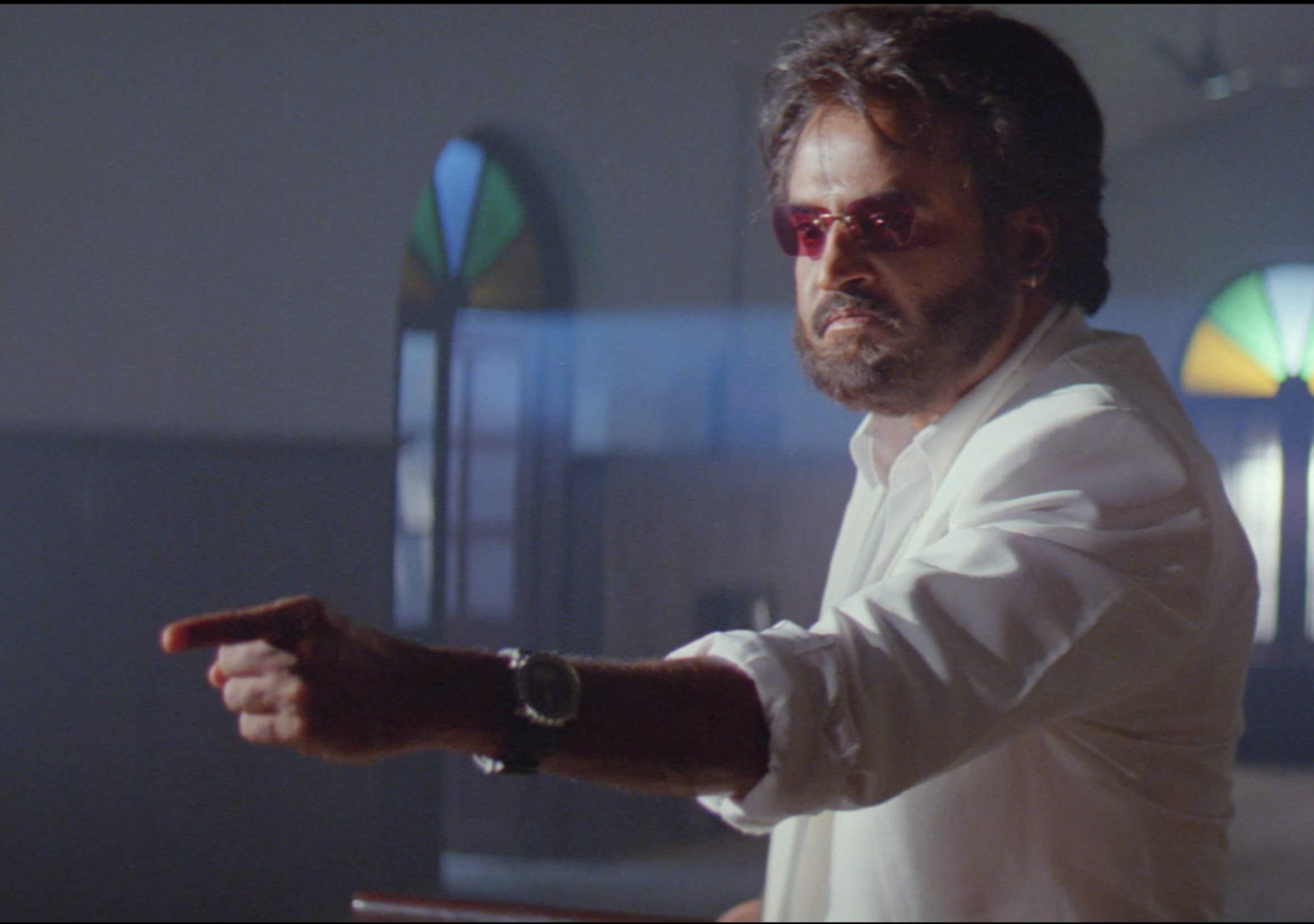 Superstar Rajinikanth in Baasha