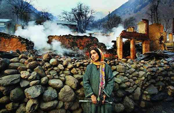After the fire, Frislan, 2012. Pic: Javed Dar