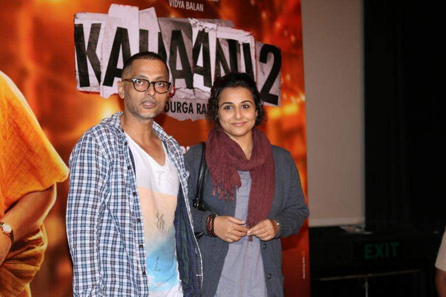 Sujoy Ghosh and Vidya Balan