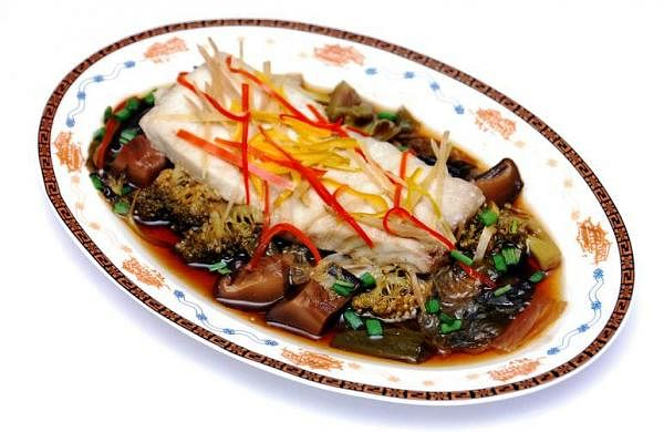 Steamed Fish in Wine