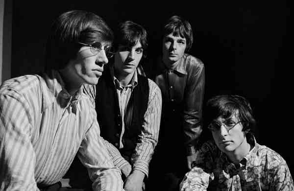 L-R: Waters, Barrett, Wright & Mason ® Pink Floyd Music Ltd
