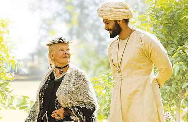 Judy Dench and Ali Fazal as Victoria and Abdul