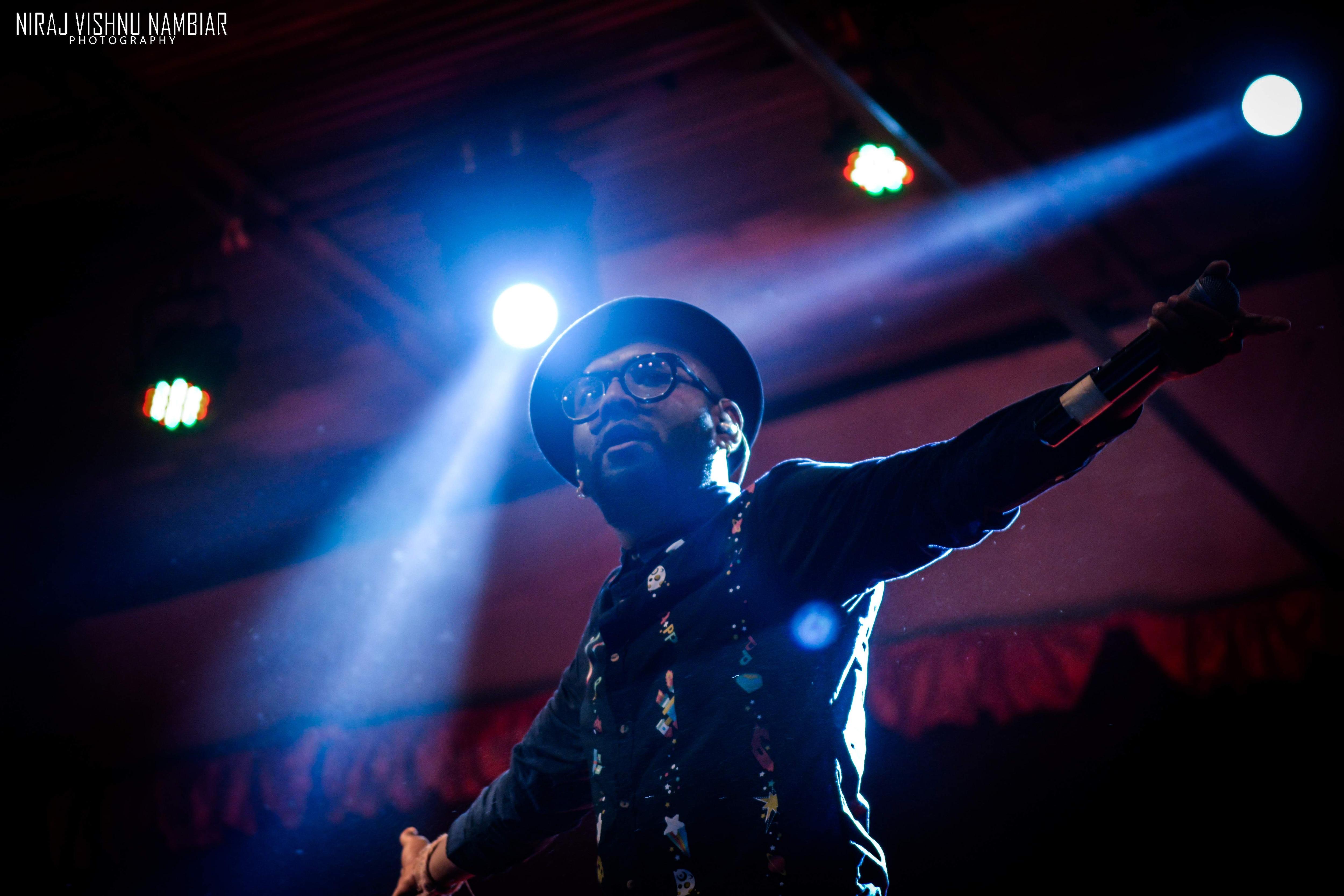 Benny Dayal (Pic: Niraj Vishnu Nambiar)
