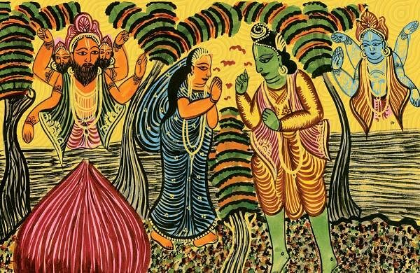 Bengal Scroll Paintings