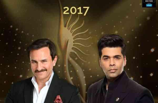 Saif Ali Khan and Karan Johar