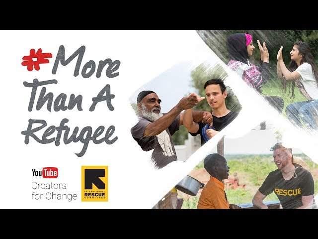 YouTube #MoreThanARefugee