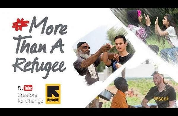 YouTube #MoreThanARefugee
