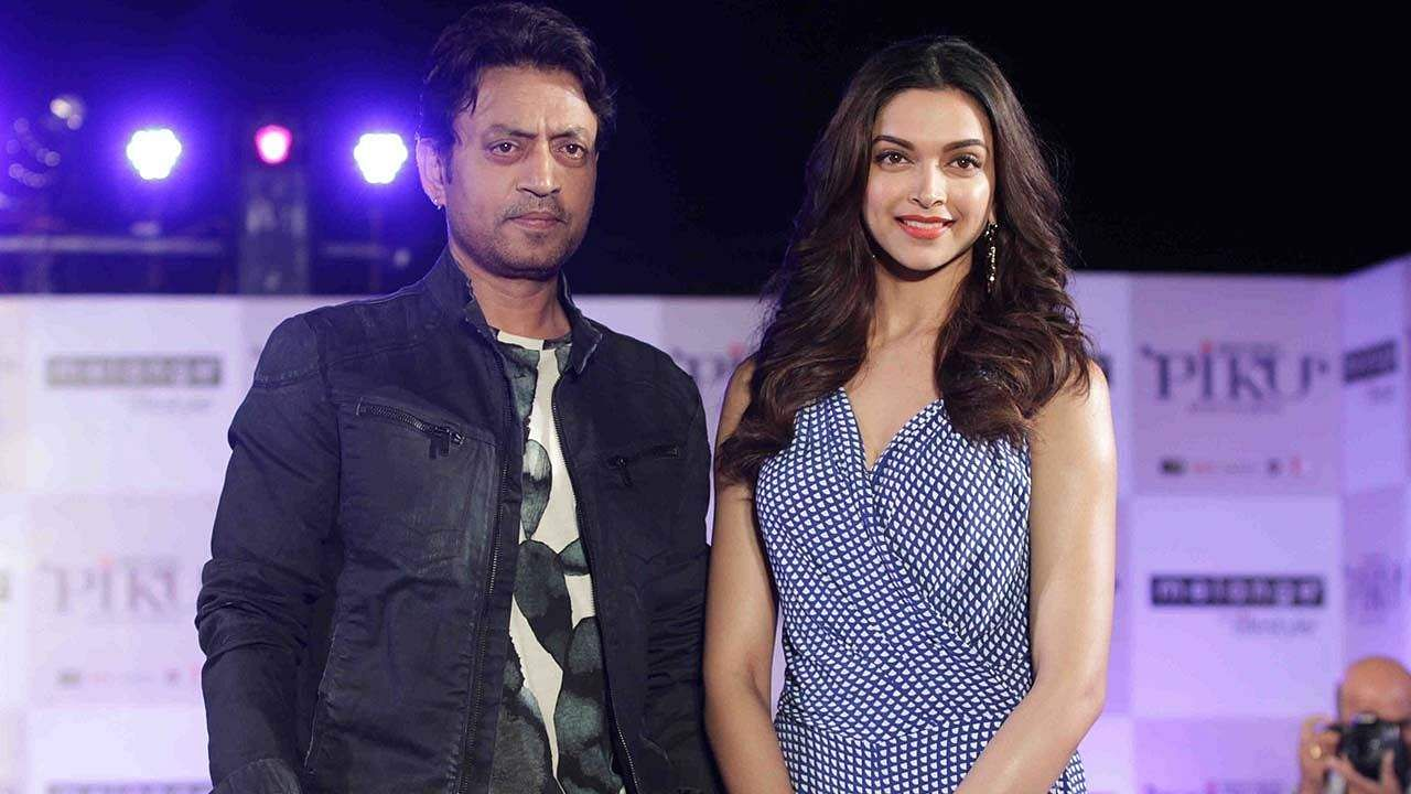 Irfan Khan and Deepika Padukone