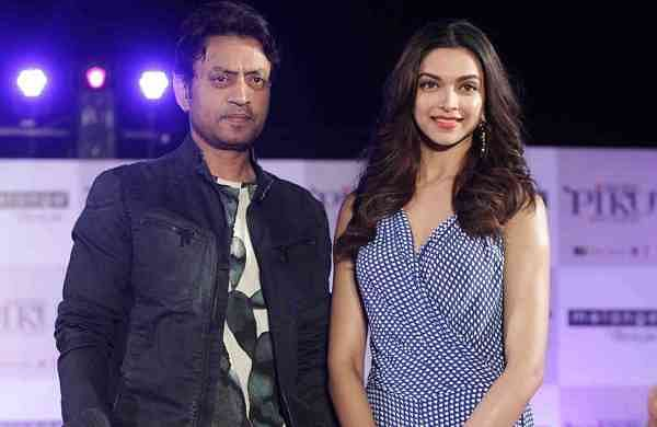 Irfan Khan and Deepika Padukone