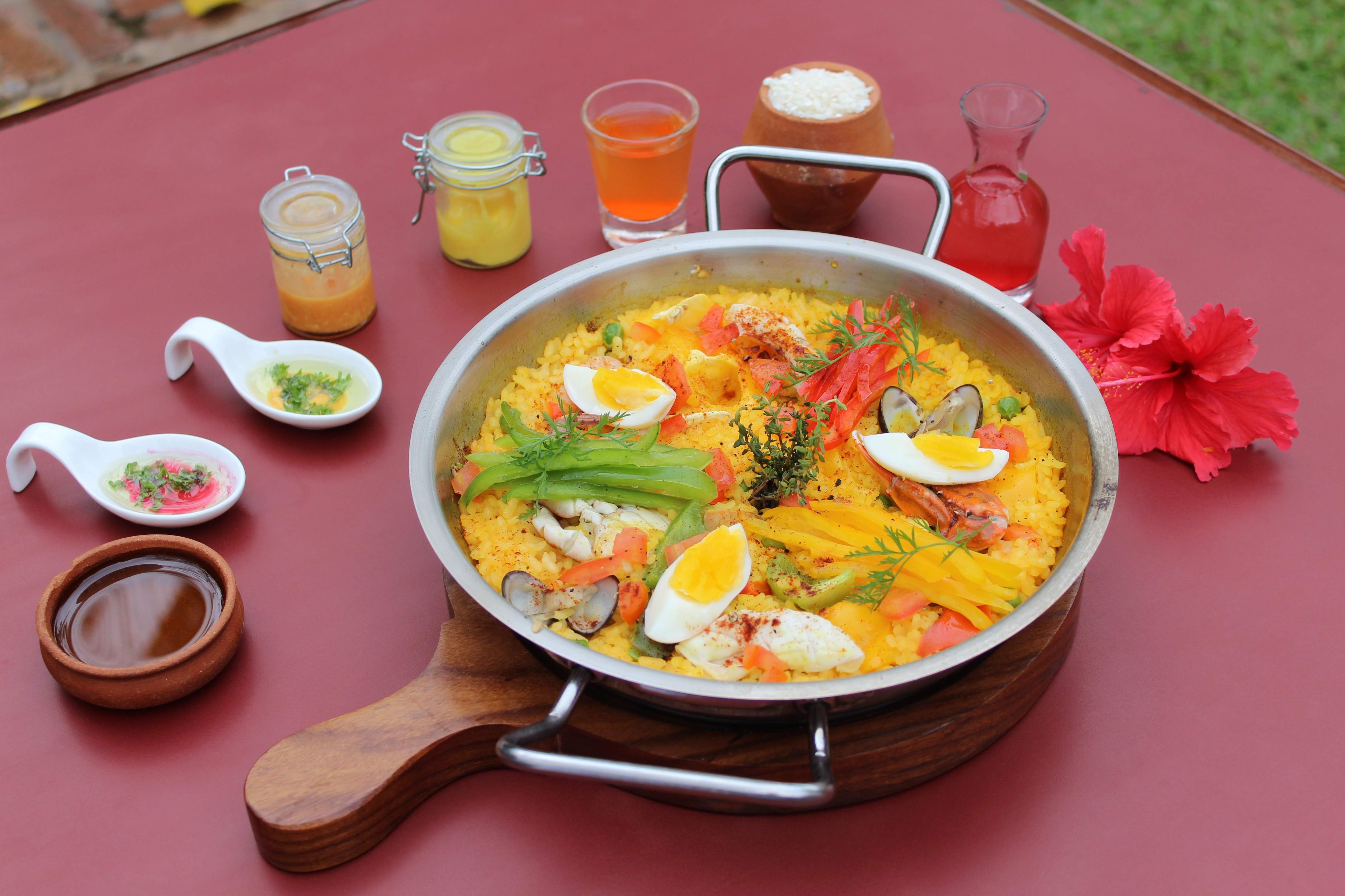 Spanish Seafood Fiesta