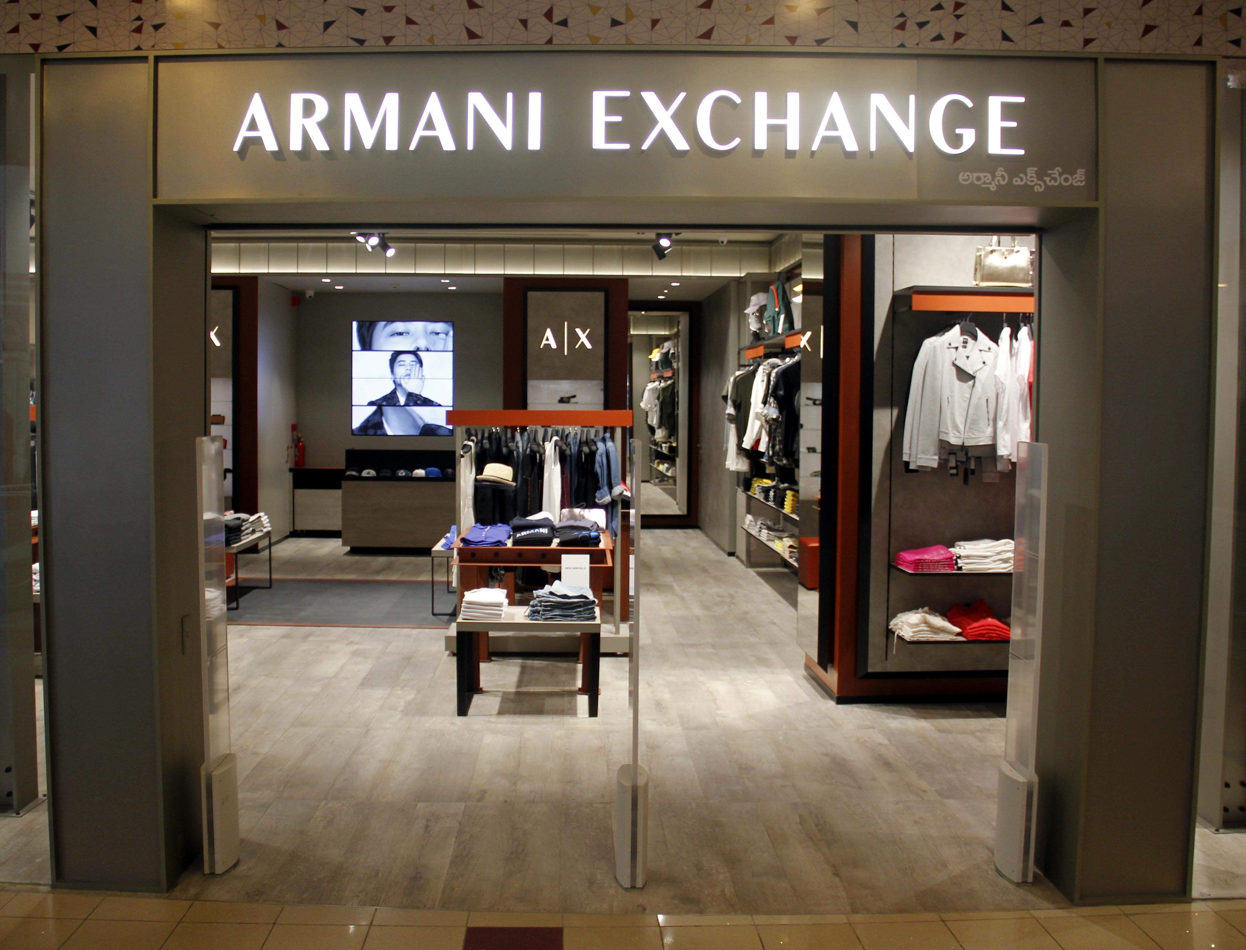 armani exchange factory