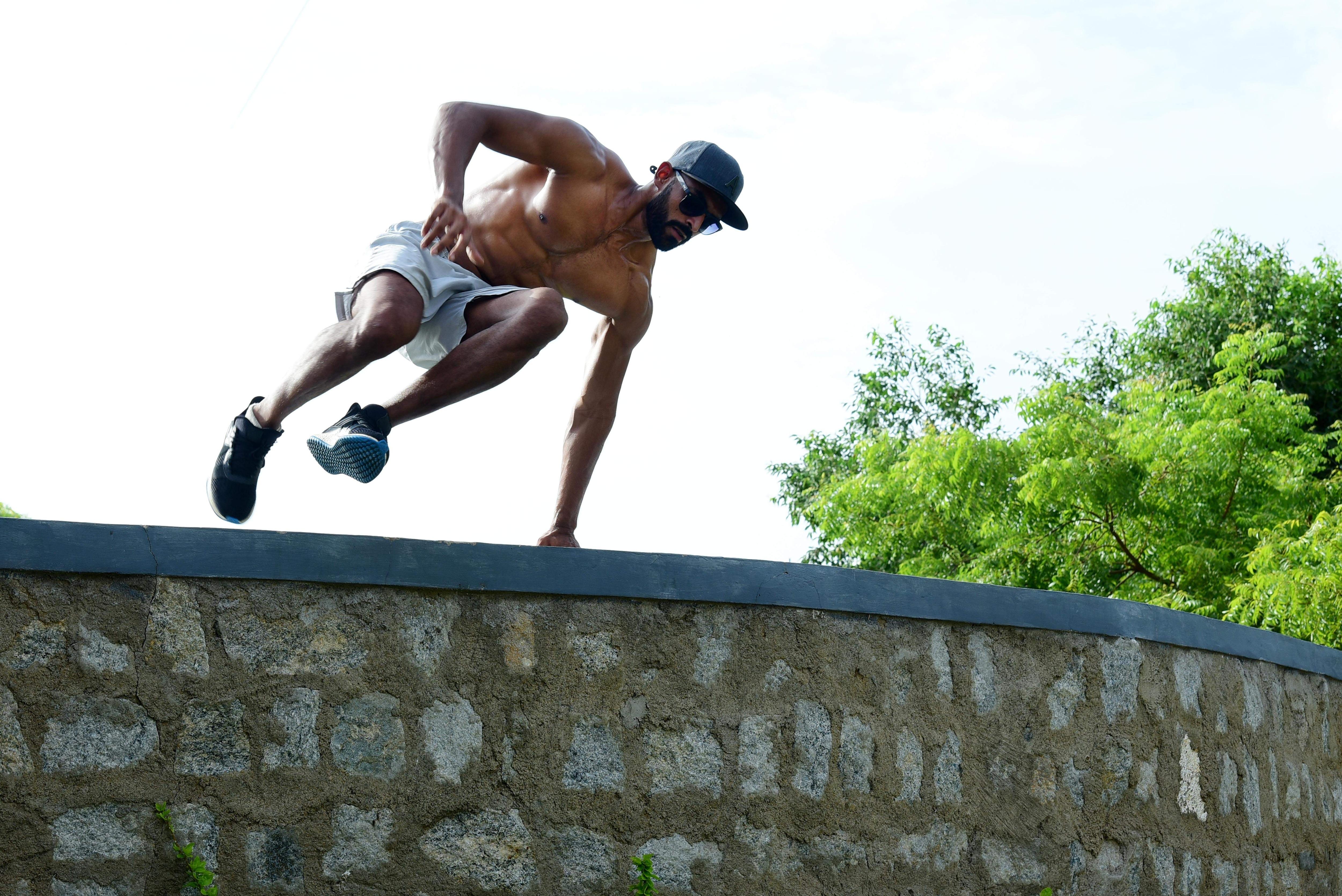Arjun Motha in action