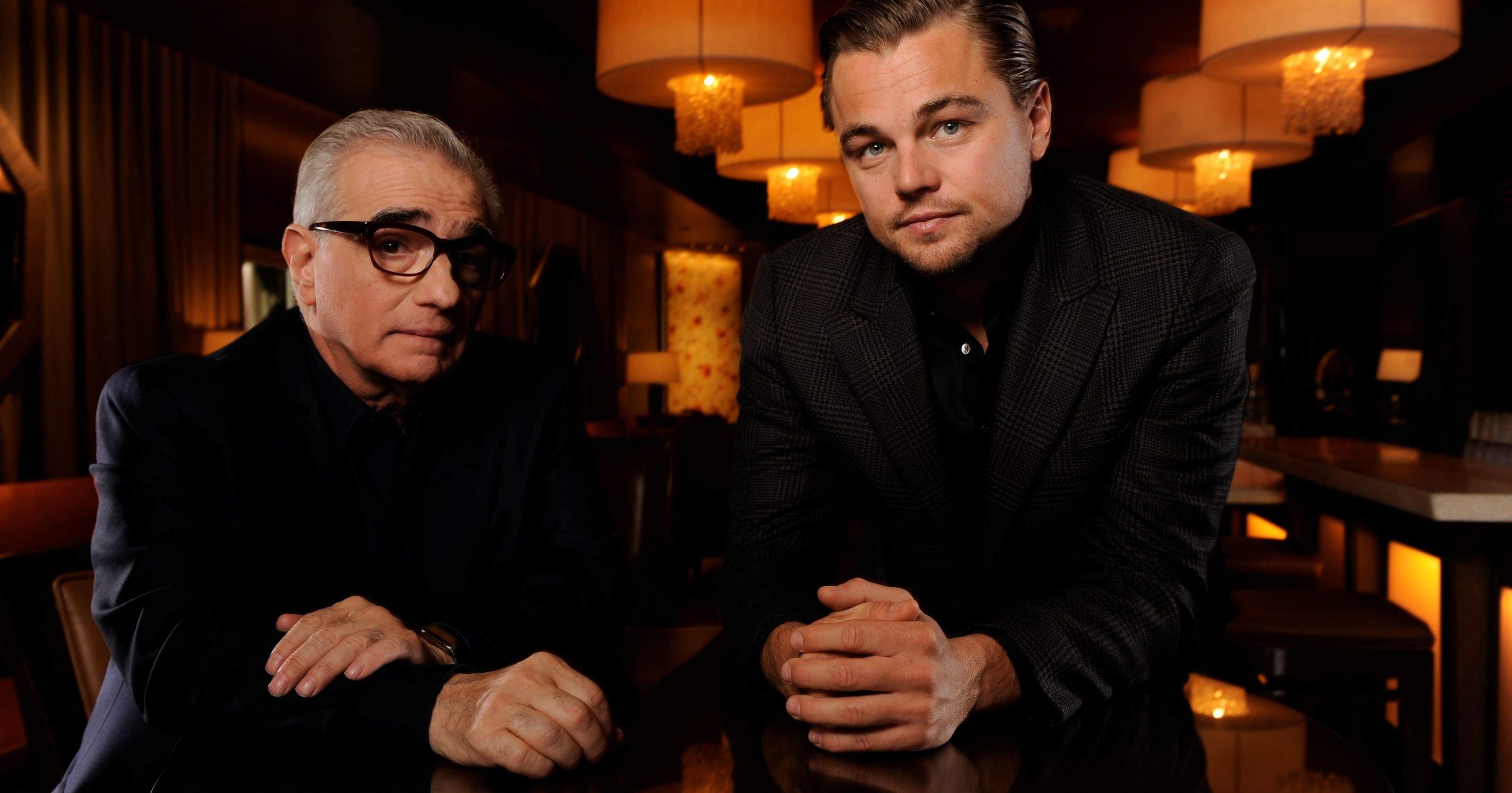 Martin Scorsese and Leonardo Dicaprio