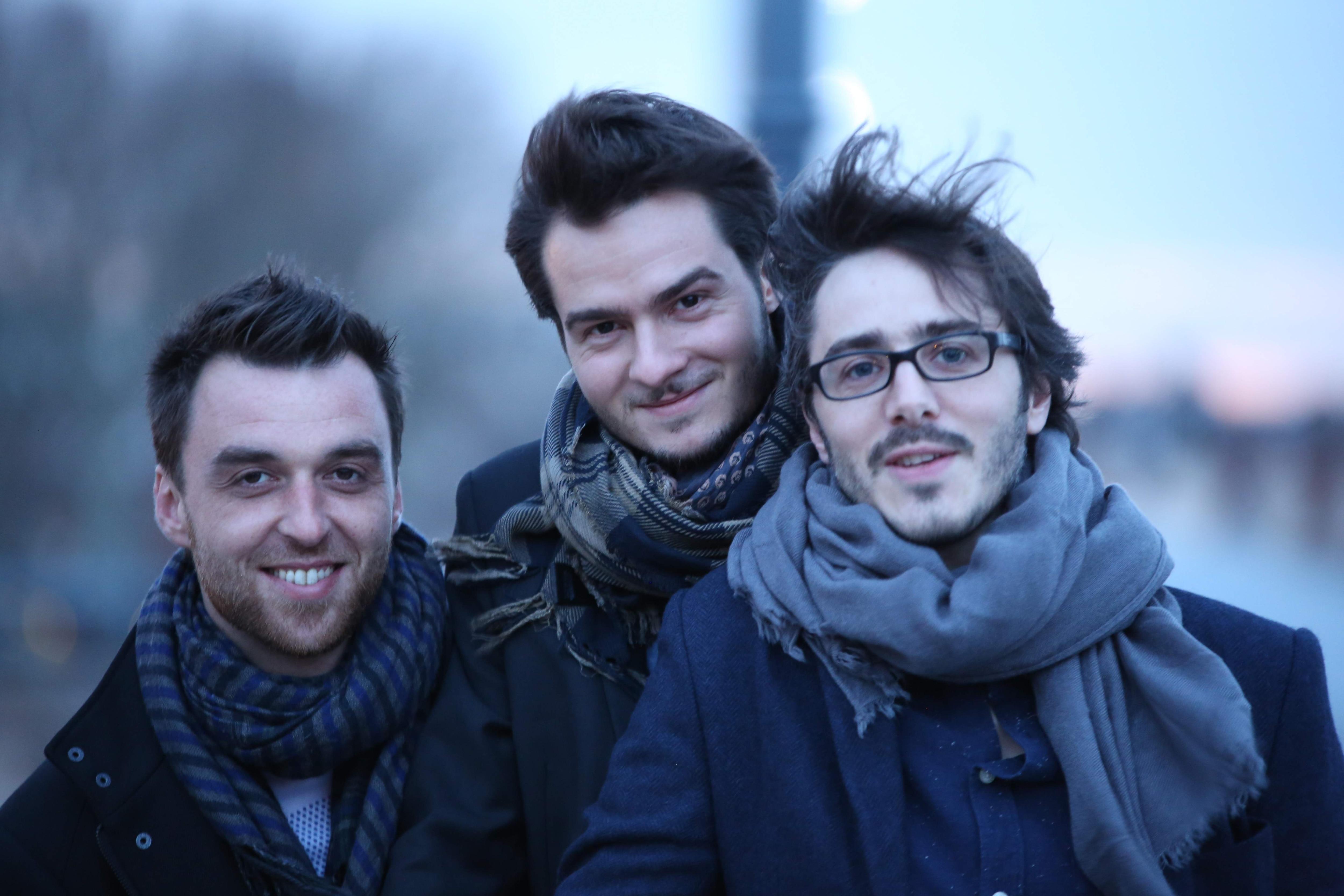 Lorenzo Naccarato Trio - Adrien Rodriguez, Lorenzo Naccarato and Benjamin Naud