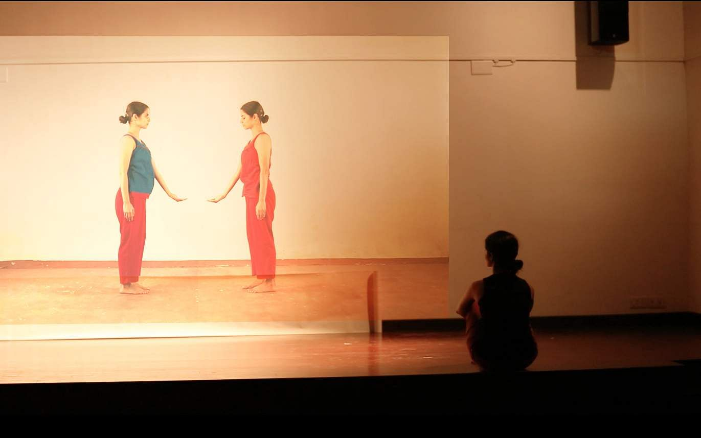 The conceptual work titled, to be danced (Pic: Deepa Vaswani)