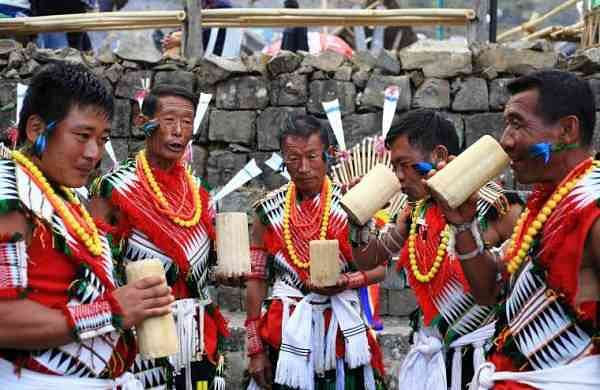 Rice beer at the Hornbill Festival