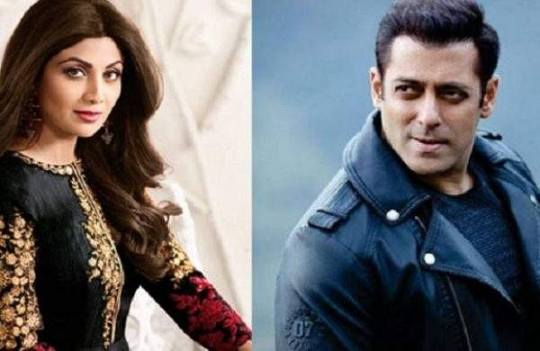 Shilpa Shetty and Salman Khan