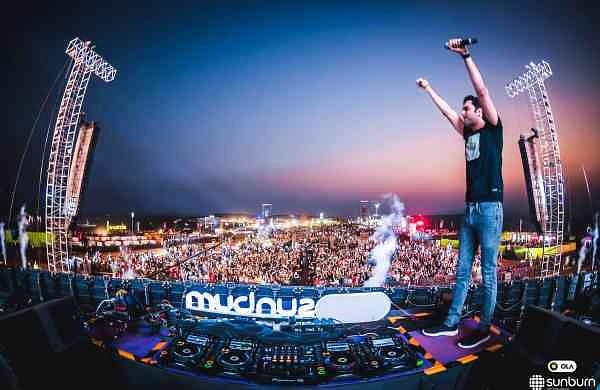 Nucleya at Sunburn 2017