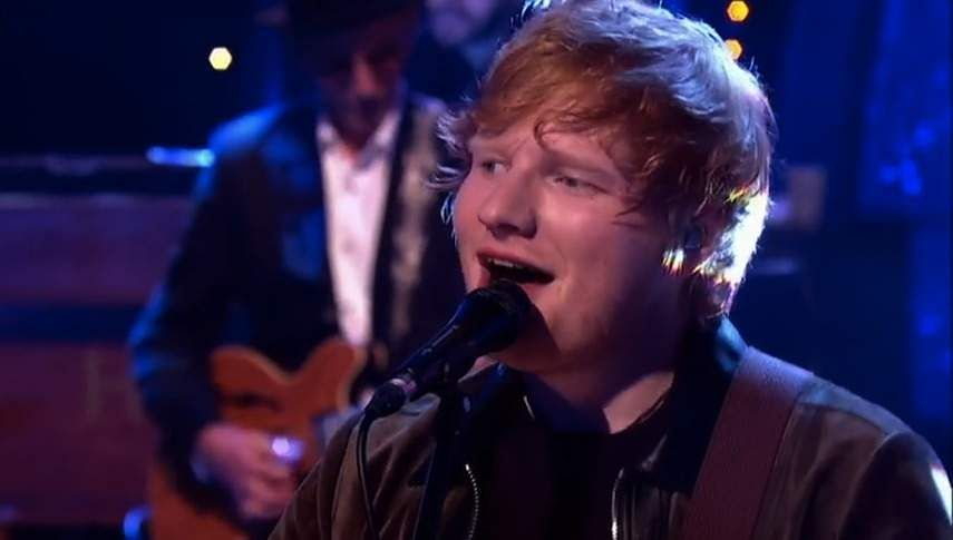 Ed Sheeran covers Layla
