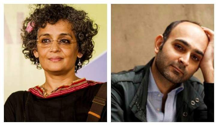 Arundhati Roy and Mohsin Hamid