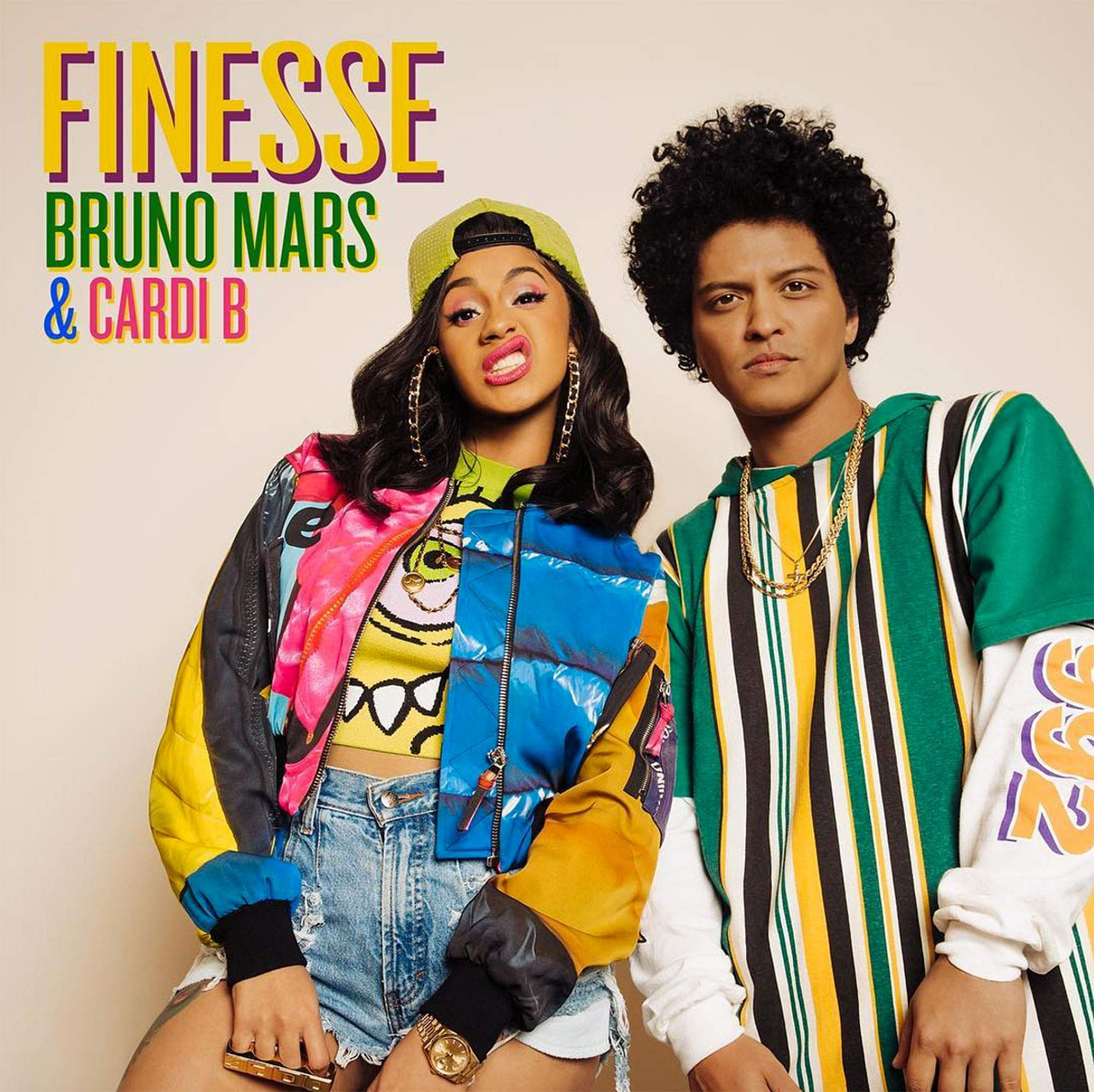 Bruno Mars collaborates with hip-hop star Cardi B