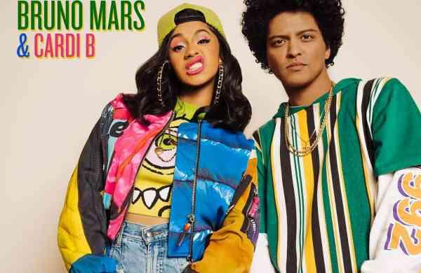 Cardi B and Bruno Mars