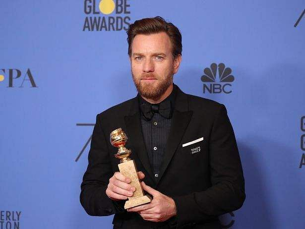 Ewan McGregor Thanked Estranged Wife and Reported GF in Globes Acceptance Speech