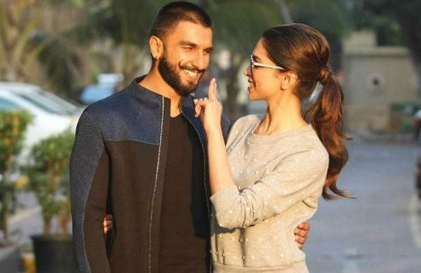 Ranveer Singh and Deepika Padukone latest picture