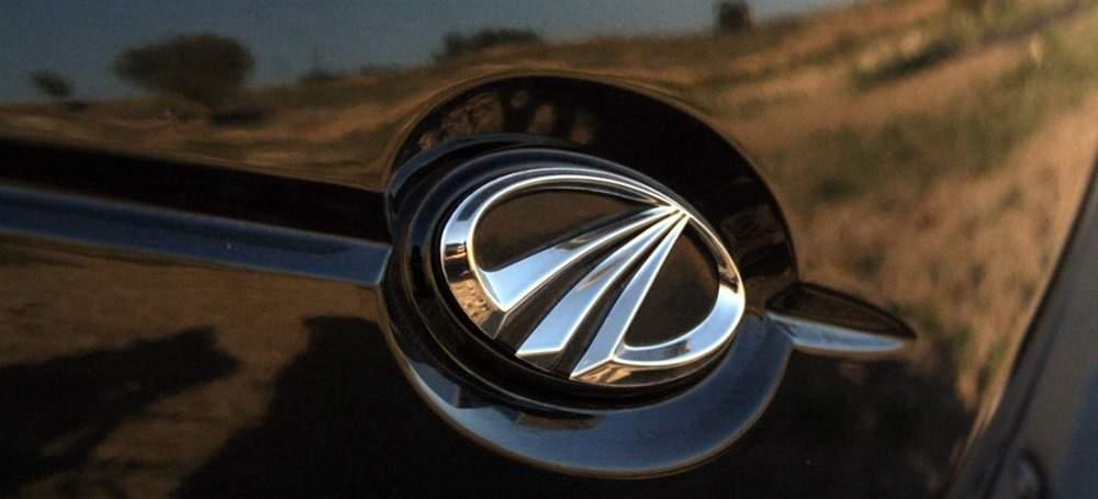 Mahindra-Logo-on-Car