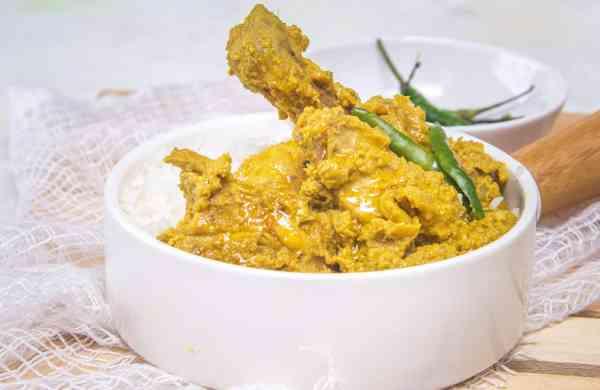 Posto Murgi Chicken Gravy Recipe